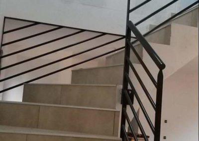 escalier alpes travaux locaux